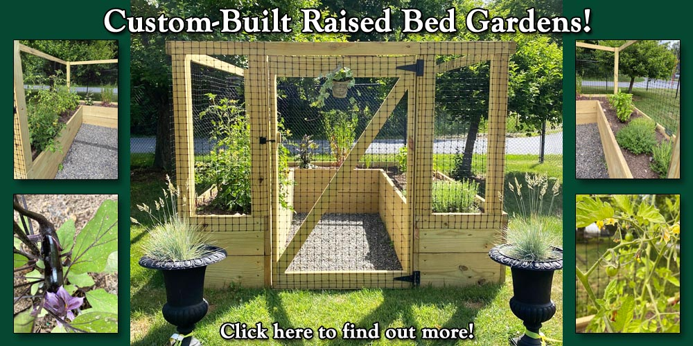 Custom Raised Bed Gardens